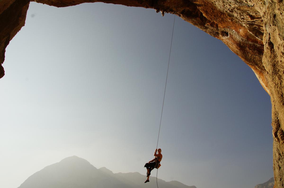 Climbing Finale Ligure