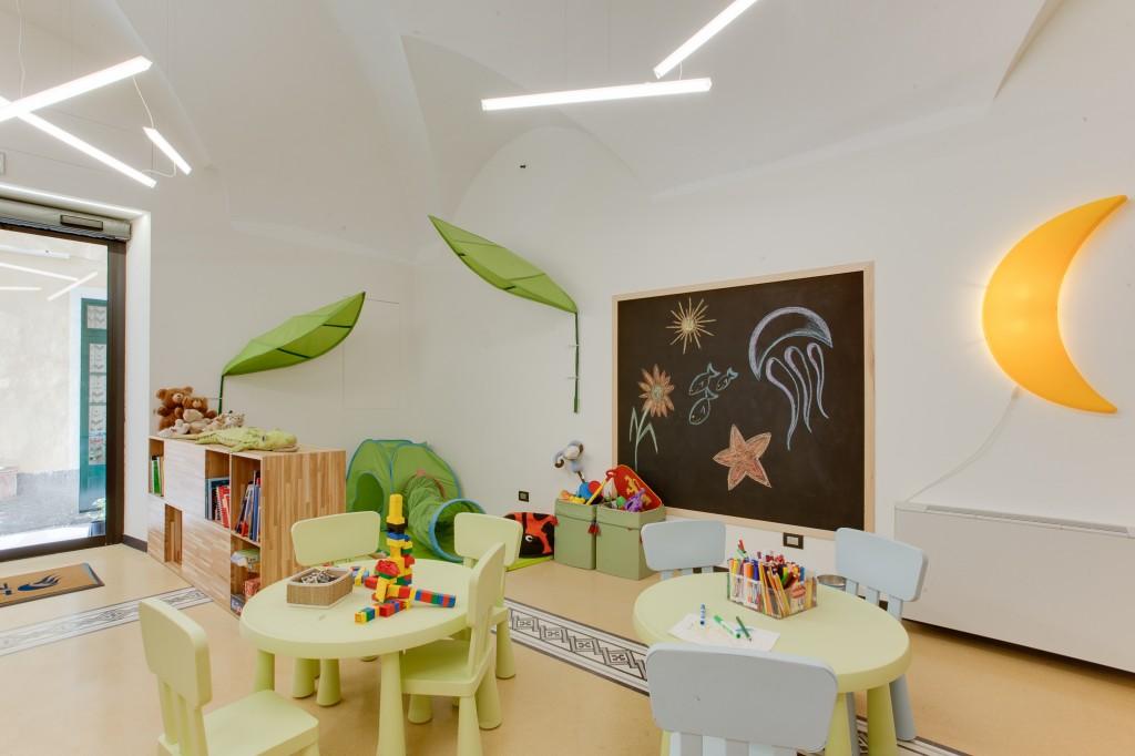 Sala Giochi Per Bambini : Hotel per famiglie a finale ligure :: hotel medusa